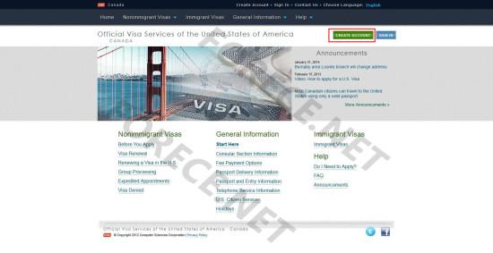 美国旅游Visa签证预约-0